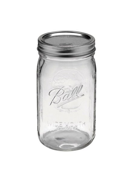 frasco ball 1 quart 32 oz  boca ancha C/U