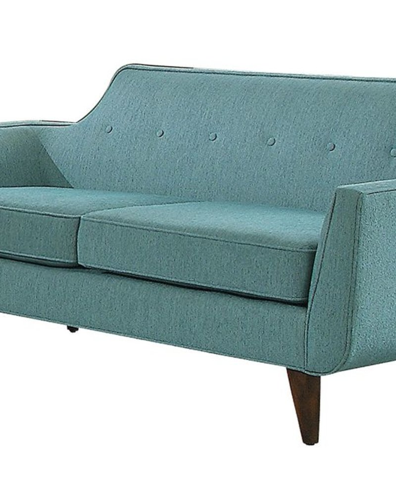 loveseat minimal teal
