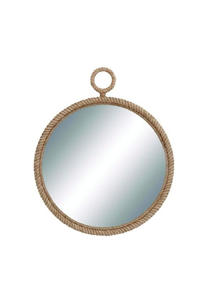 espejo redondo cuerda