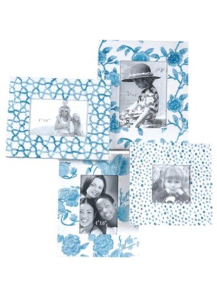 portraretratos print azul 4 marcos