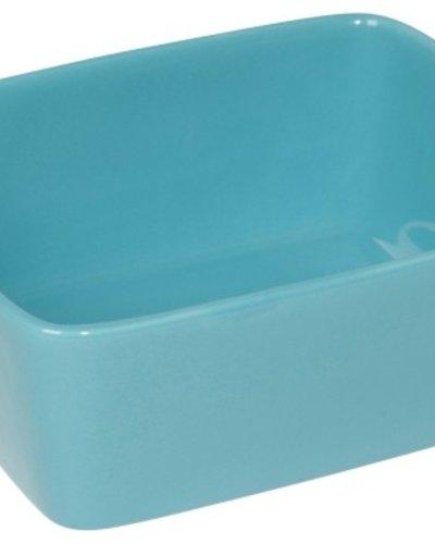 Rectangular Baker Aegean Blu