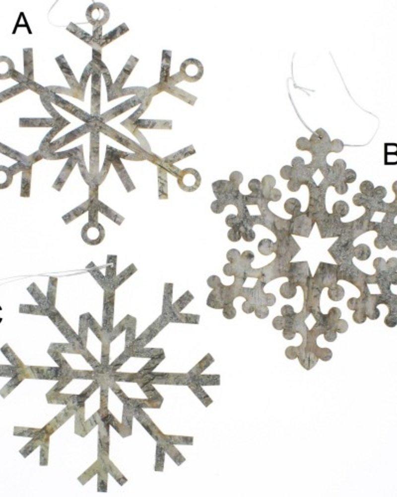 Ornamento copos de nieve