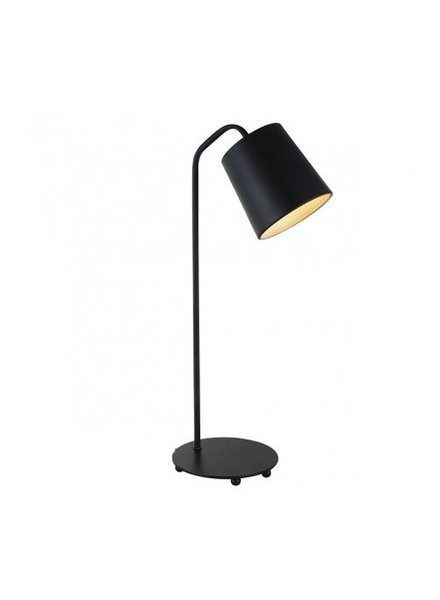 lampara de mesa negra