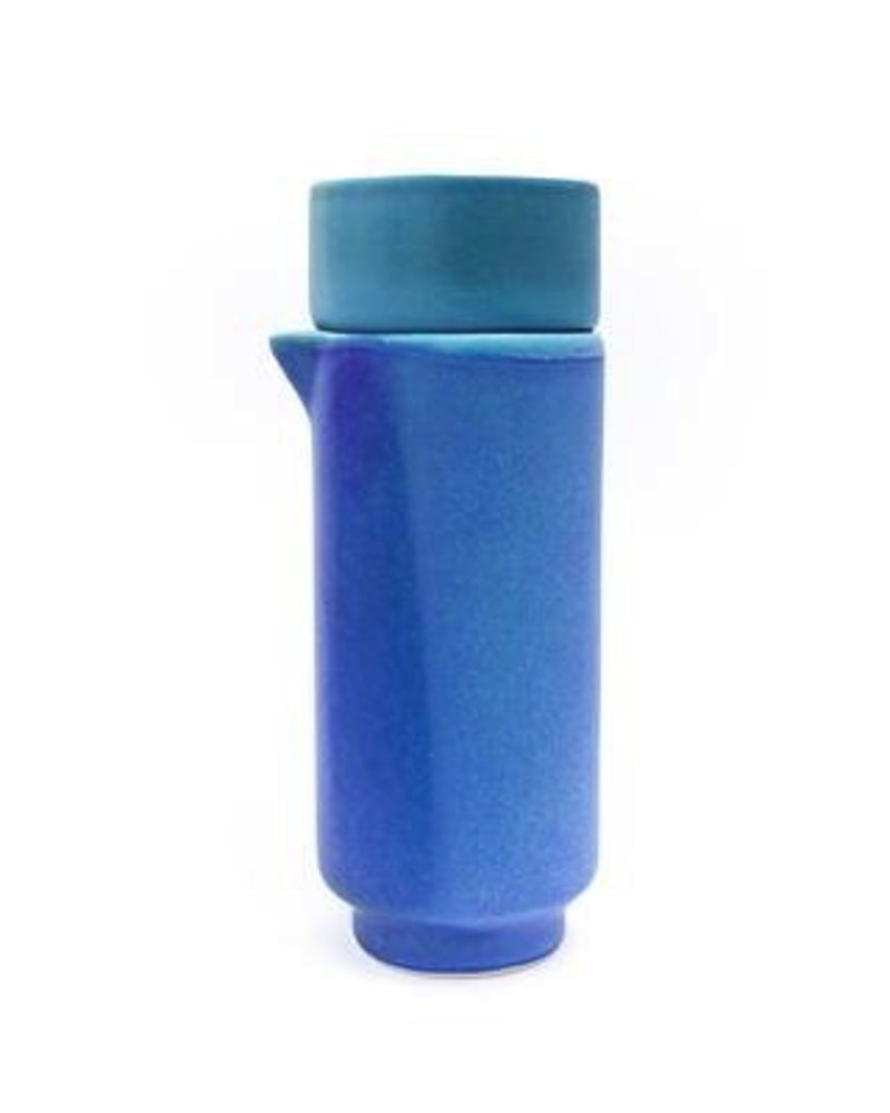 Jarra + Vaso Mineral<br />color bacalar
