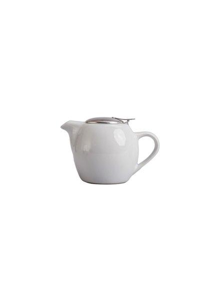 tetera de ceramica blanca 30oz