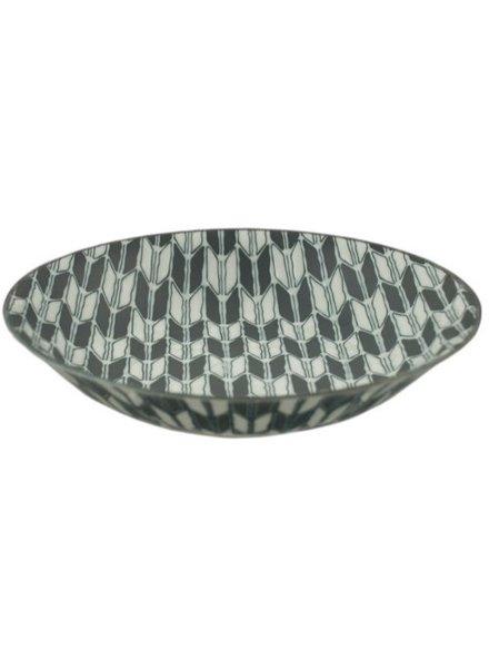 plato poco profundo komon 19.5 cm de diametro 4 cm de alto