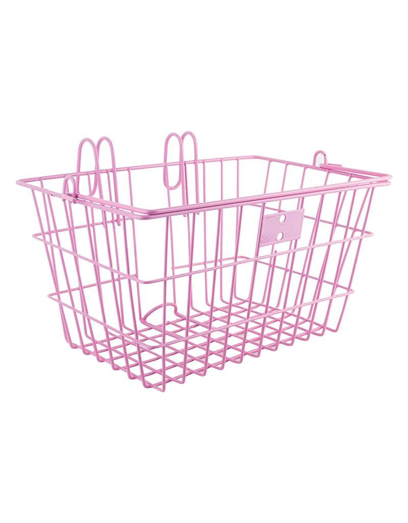 Sunlite pink lift off wire basket