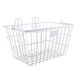 Sunlite white lift off front basket