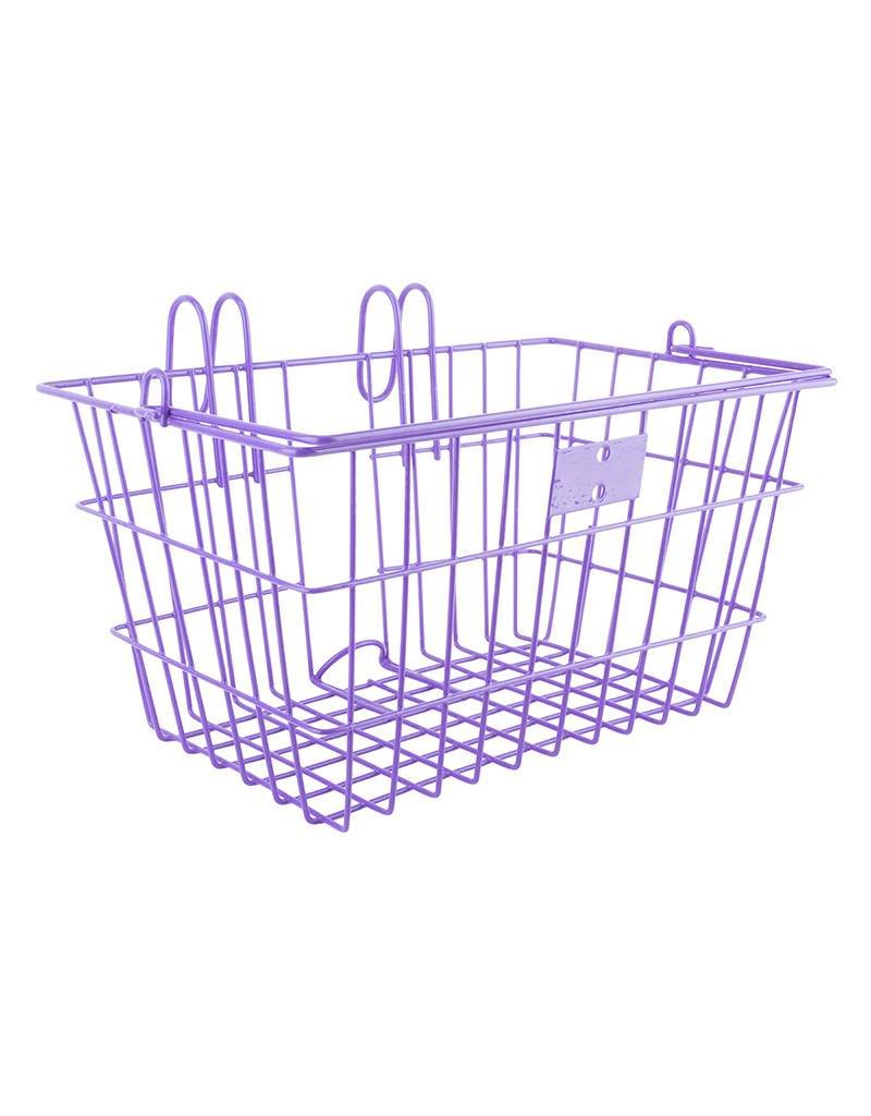 Sunlite purple lift off front basket