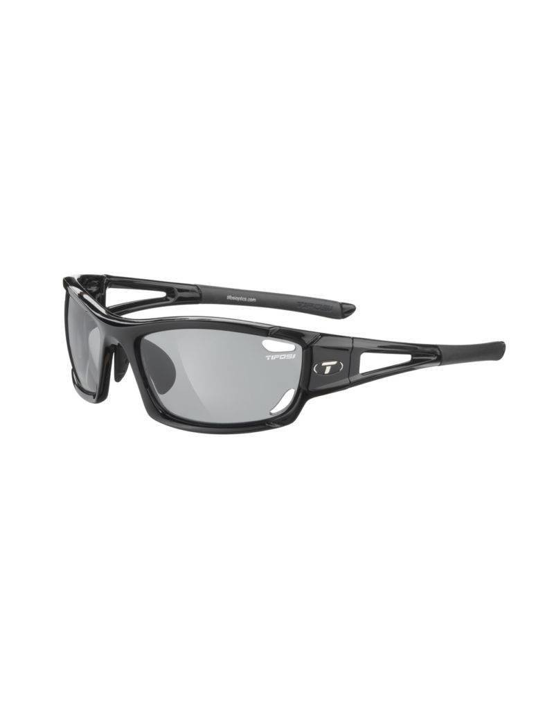 TIFOSI OPTICS Tifosi Dolomite 2.0, Gloss Black Polarized Fototec Sunglasses