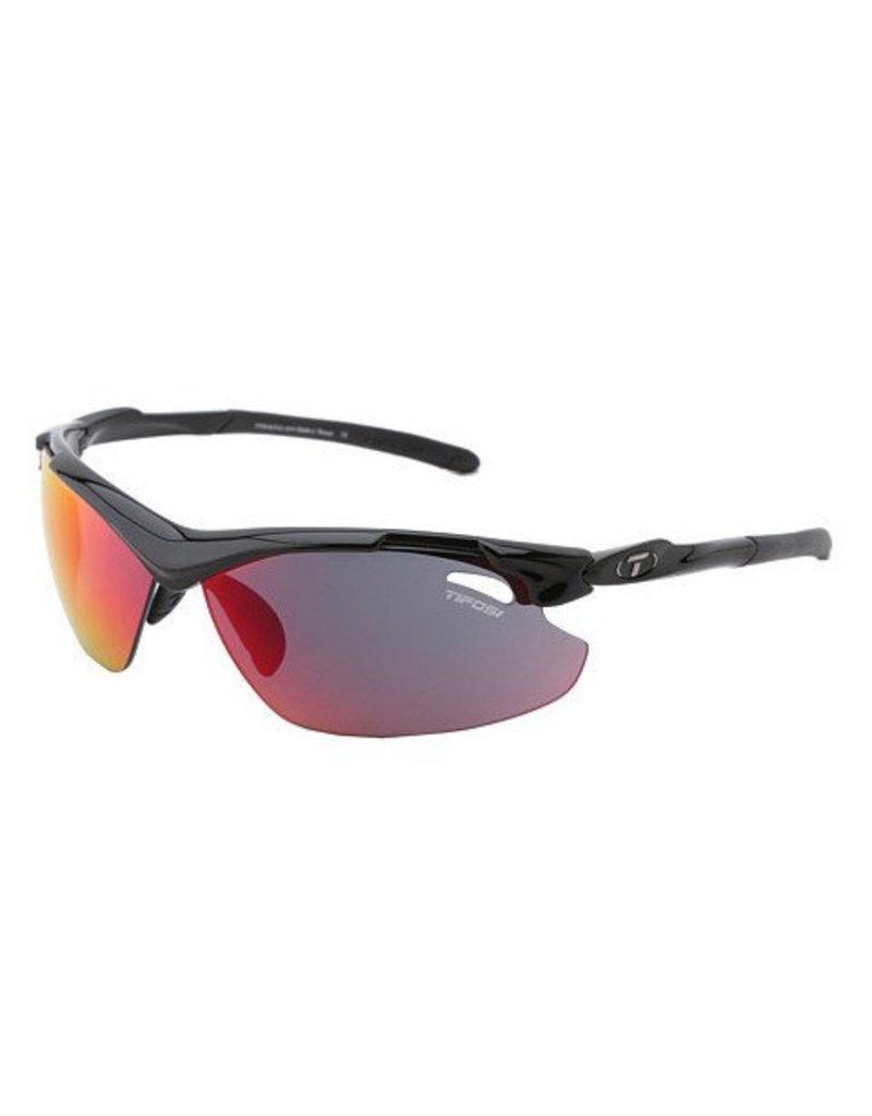 Tifosi Tyrant 2.0, Gloss Black Interchangeable Sunglasses