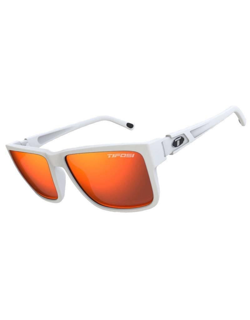 Tifosi Hagen XL, Matte White Single Lens Sunglasses
