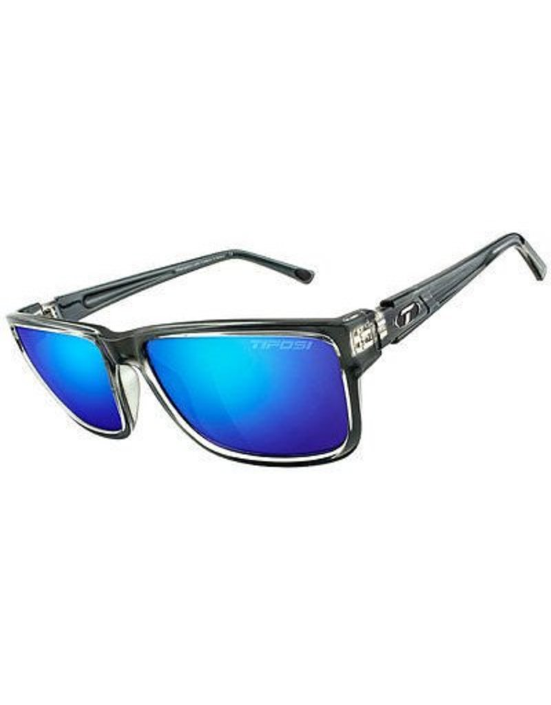 Tifosi Hagen XL, Crystal Smoke Single Lens Sunglasses