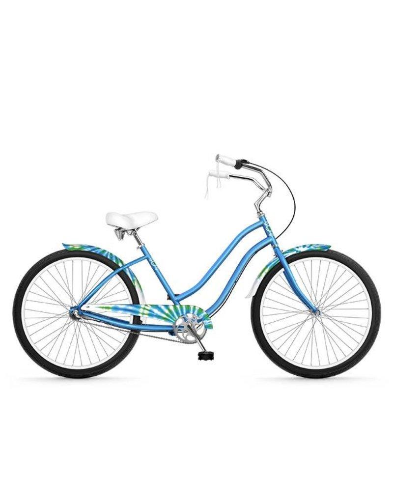 Phat Phat Cycles TIE DYE BLUE