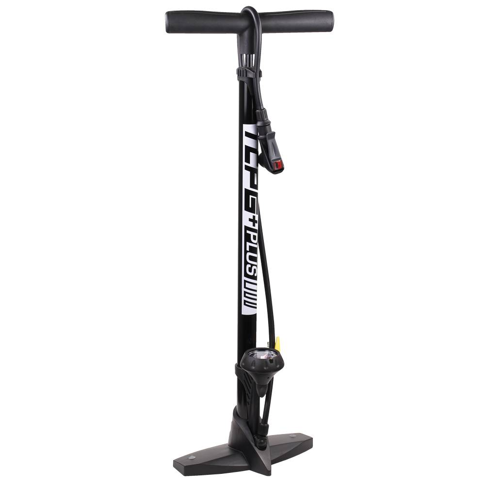 THERMO COMPOSITE FLOOR PUMP BLACK W/GAUGE