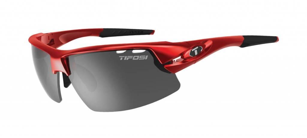 Tifosi Crit, Metallic Red Interchangeable Lenses