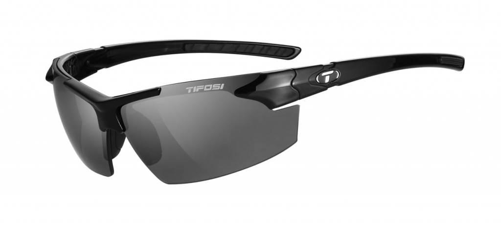Tifosi Jet FC, Gloss Black Single Lens Sunglasses