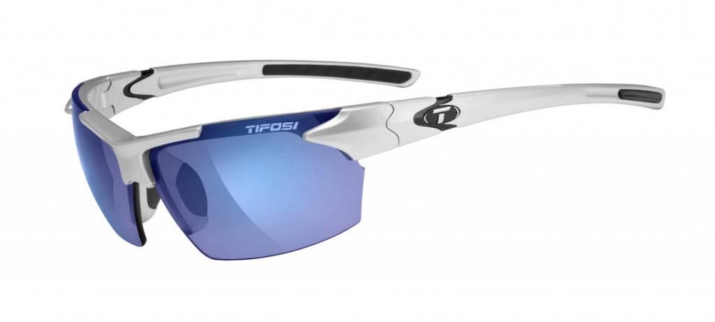 Tifosi Jet, Metallic Silver Single Lens Sunglasses