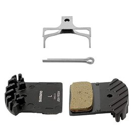 BRAKE PAD SHIMANO BR-M985 RESIN DISC PAD F01A WITH FIN