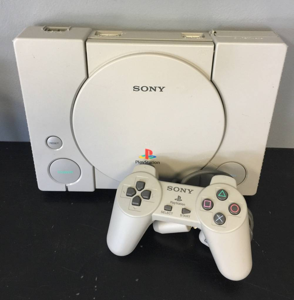 Original Sony Playstation 1 (PS1) Game System Complete ...