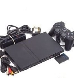 Original Sony Playstation 2 - Slim - PS2 Gaming System Complete w/ Controller + Memory Card!