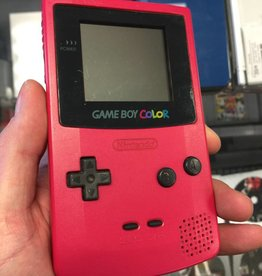 Nintendo GameBoy Color CGB-001 - Berry Pink - Handheld System