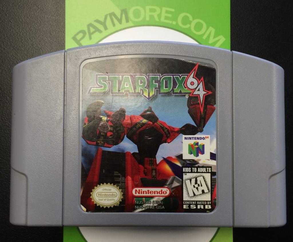 N64 - Star Fox 64 - Starfox