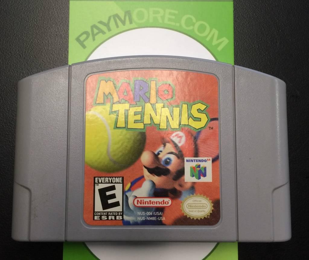 N64 - Mario Tennis 64