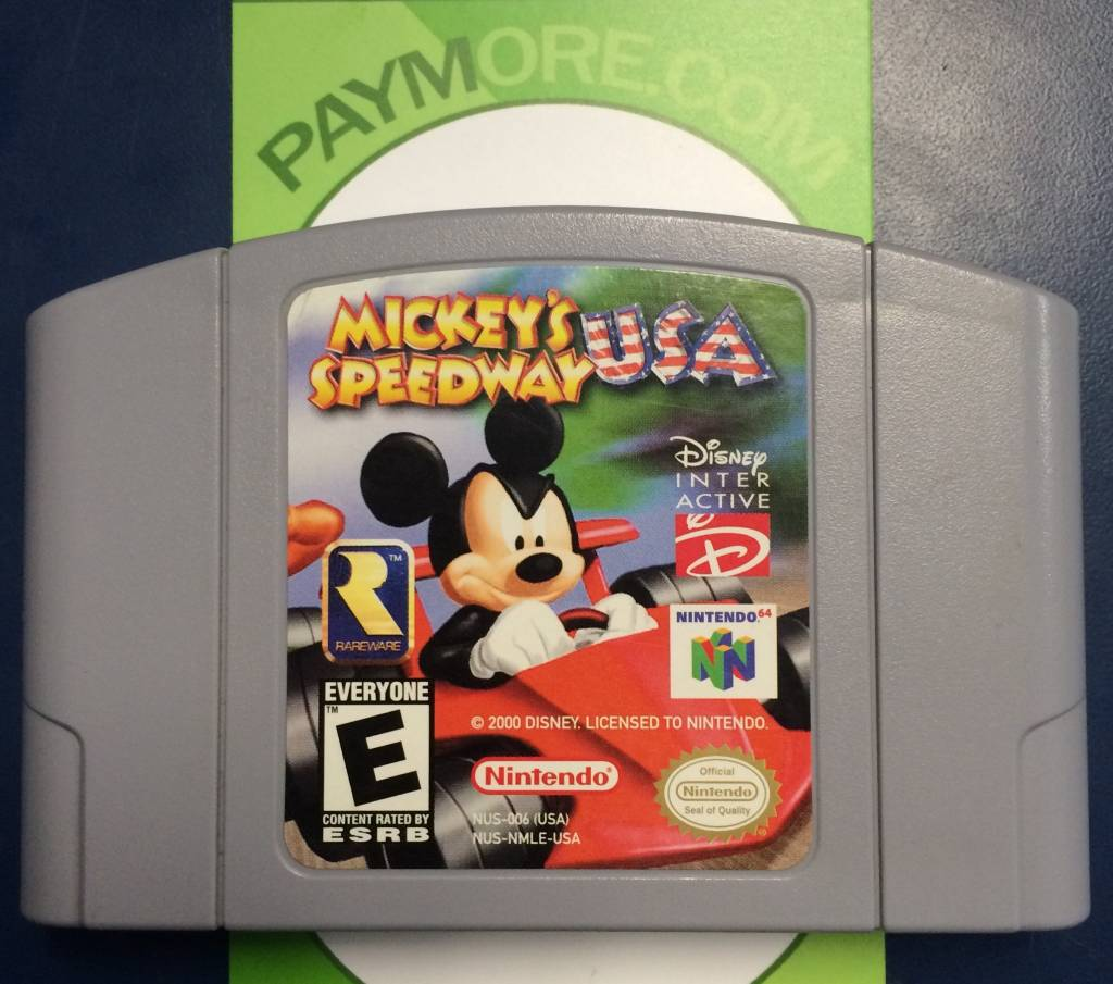 N64 - Mickey's Speedway USA