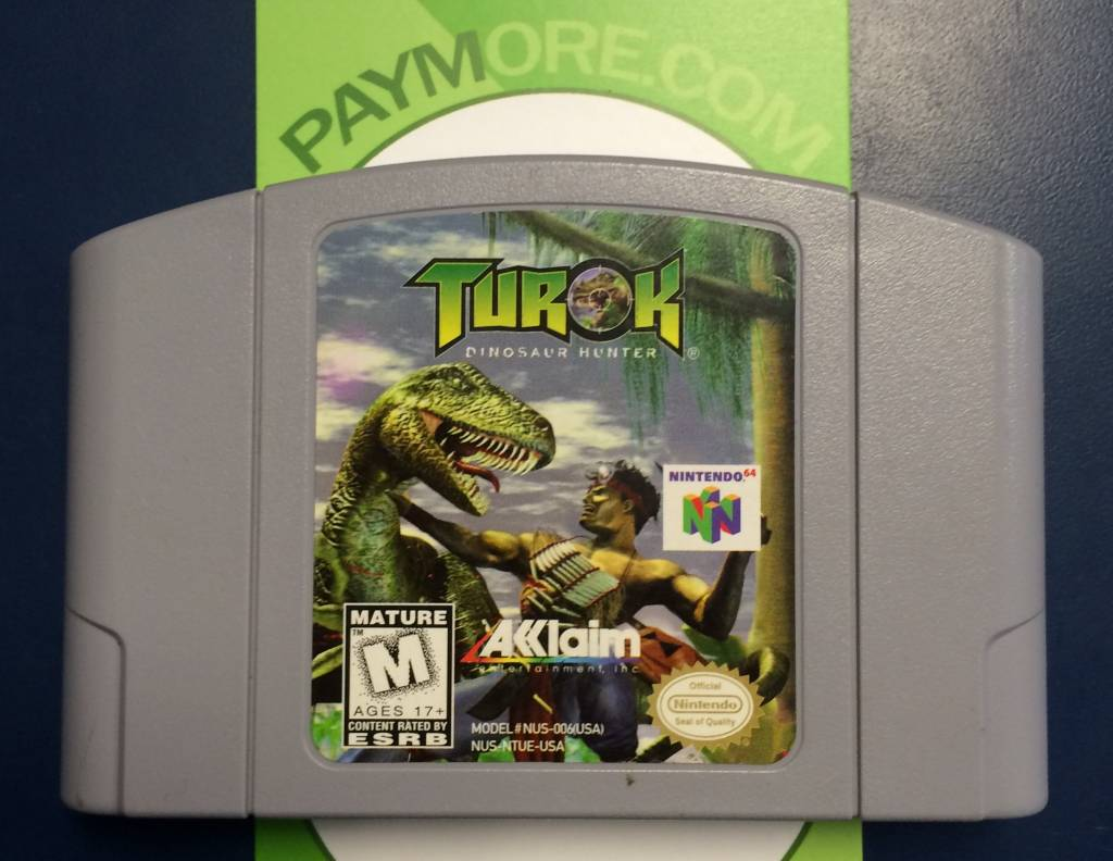 N64 - Turok The Dinosaur Hunter