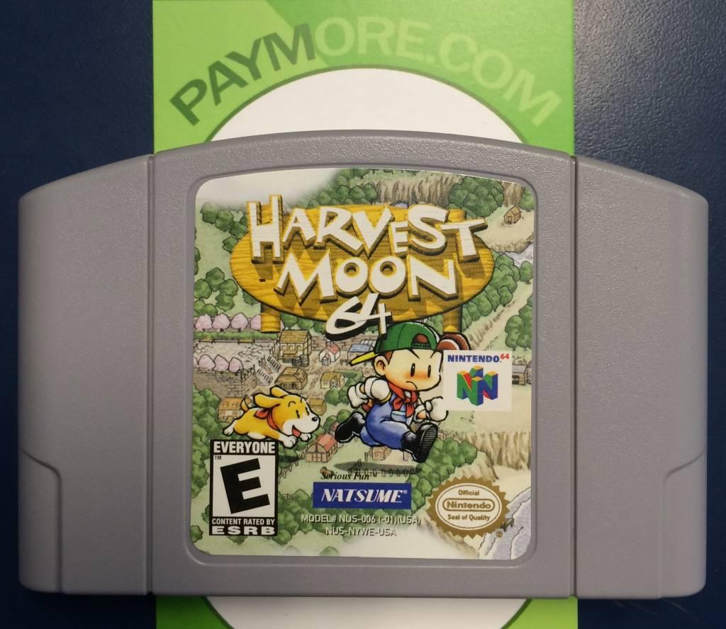 N64 - Harvest Moon 64