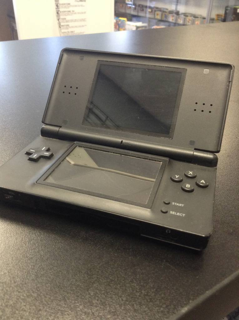 Original Nintendo DS Lite - Black - Game System w/ Charger