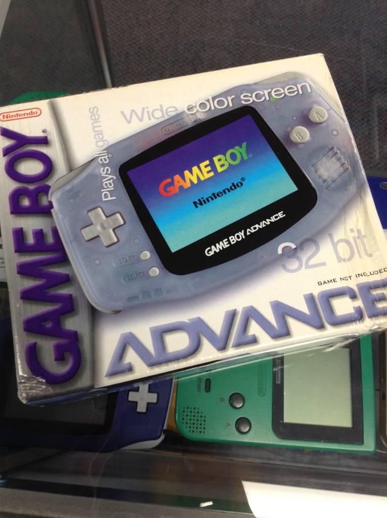 Nintendo Gameboy Advance - In Box - Glacier