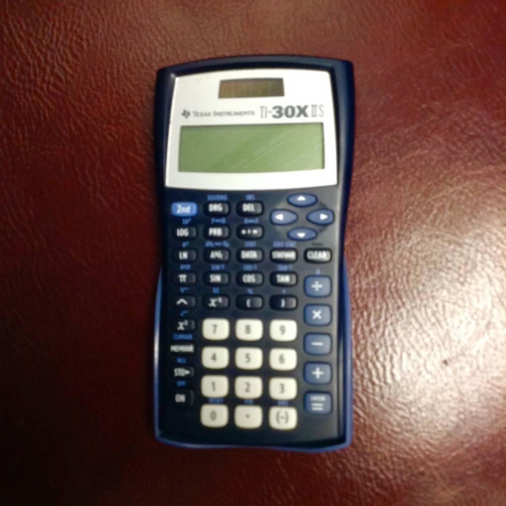 Texas Instruments TI-30 XIIS Scientific Calculator