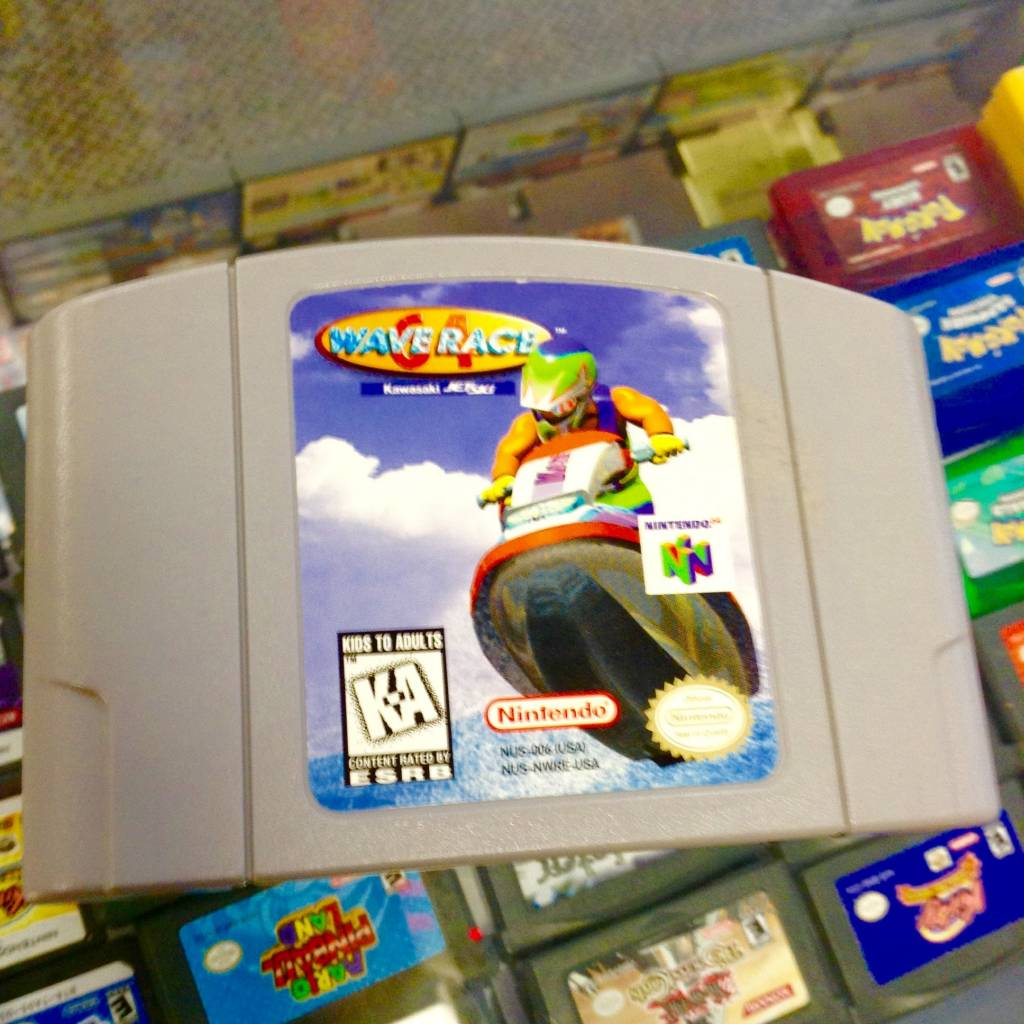 Wave Race 64 (Nintendo 64, 1996)
