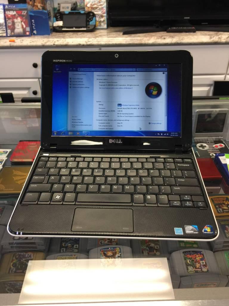 "Dell Inspiron Mini 1012 Netbook Atom N450 @ 1066Ghz 1GB 250GB Windows 7 10"""