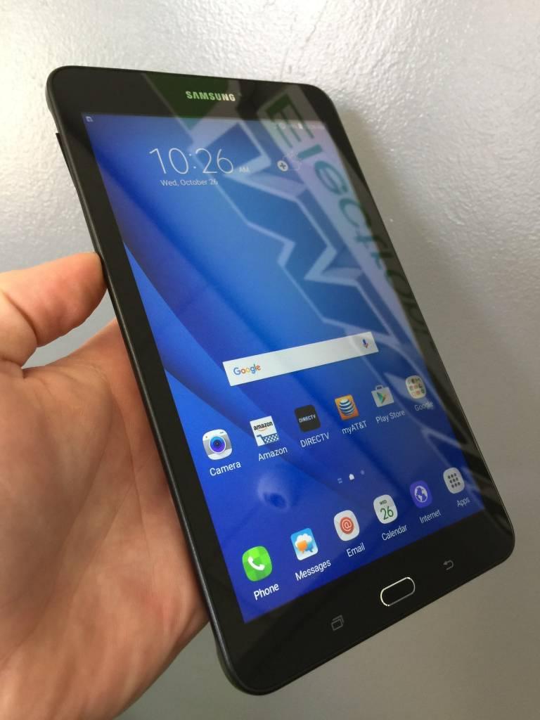 T-Mobile - Samsung Galaxy Tab A - 16GB - Black/Grey