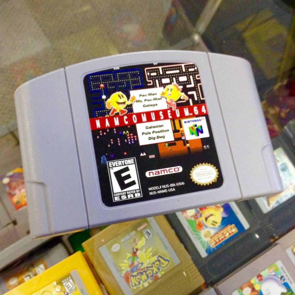 Namco Museum 64 (N64, 1999)