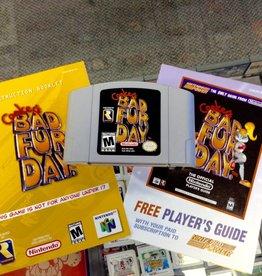 Conker's Bad Fur Day w/ Manual & Nintendo Power Insert - N64