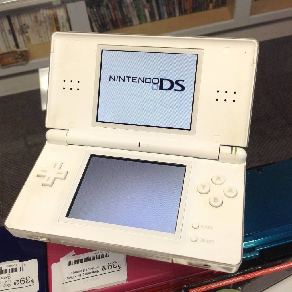 Original Nintendo DS Lite - White - Game System w/ Charger