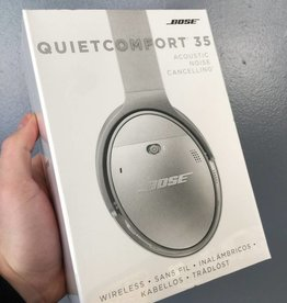 NEW SEALED - Bose QuietComfort 35 Acoustic Noise Cancelling WIRELESS Headphones - SILVER