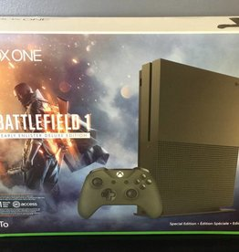 NEW - Microsoft Xbox One S Battlefield 1 Early Enlister Deluxe Edition 1TB - SPECIAL EDITION