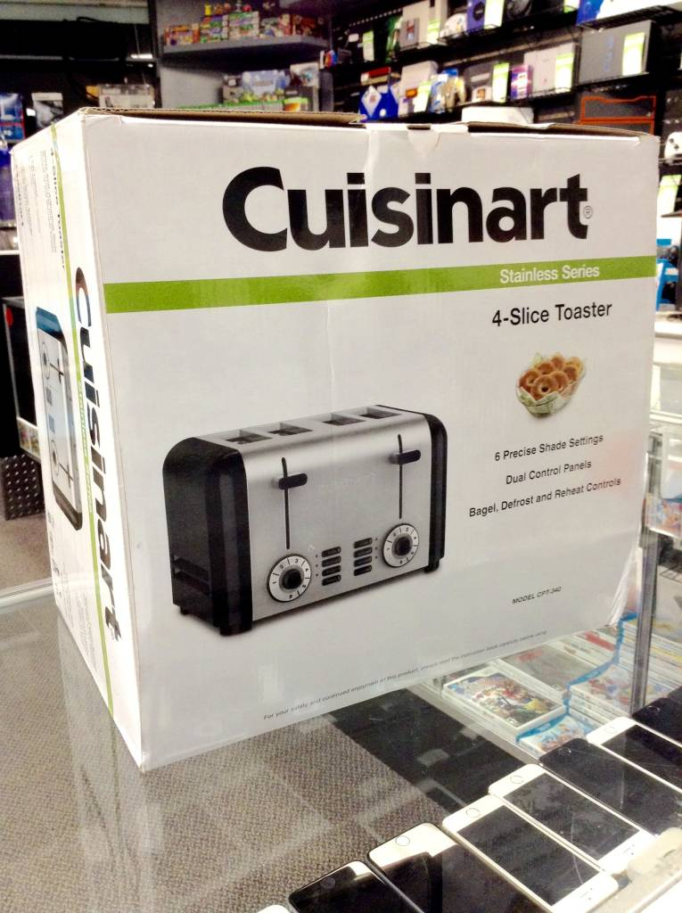 New in Box - Cuisinart 4‑Slice Toaster ‑ Stainless Steel - CPT‑340