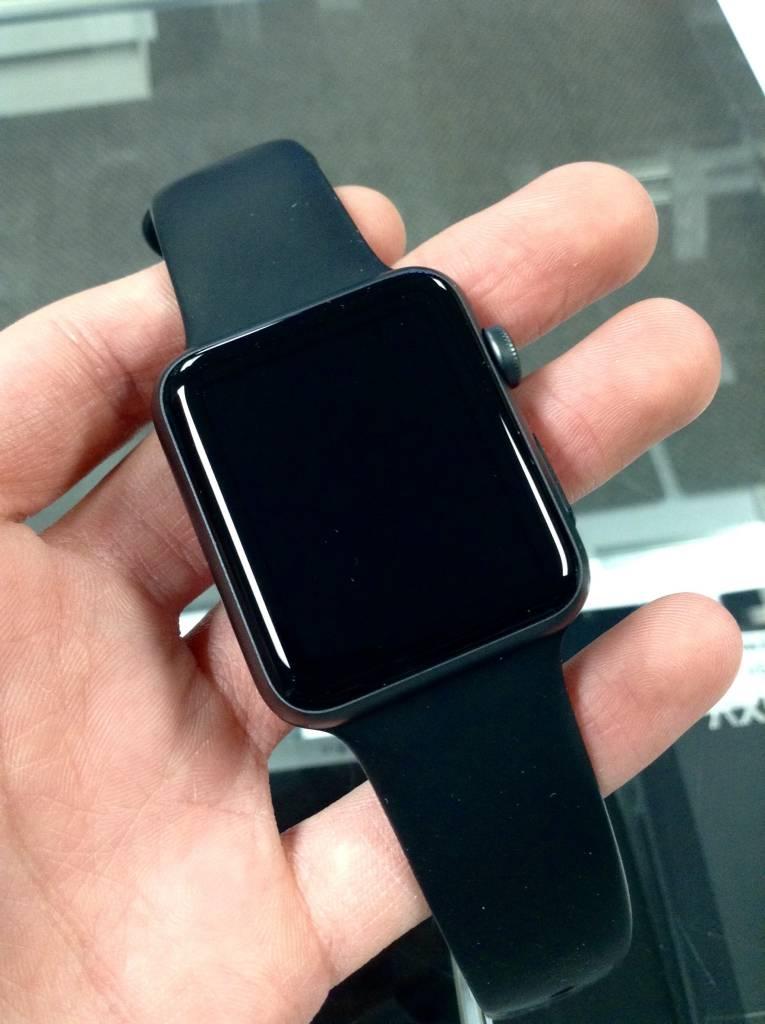 Apple Watch Series 1- 38mm - Black Sport - S/M & M/L Bands