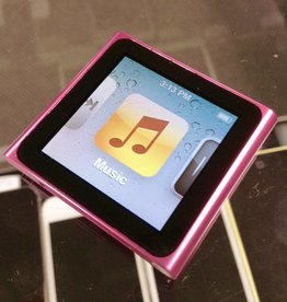 Apple iPod Nano 6th Generation Clip - 8GB - Pink