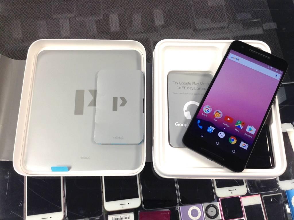 Unlocked - Google Nexus 6P - 64GB - Black
