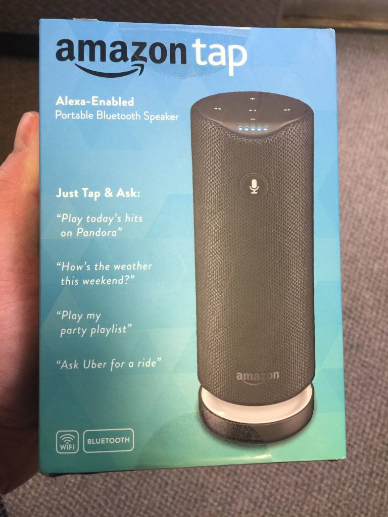 New in Box! AMAZON Tap Alexa Enabled Portable Bluetooth Speaker WIFI
