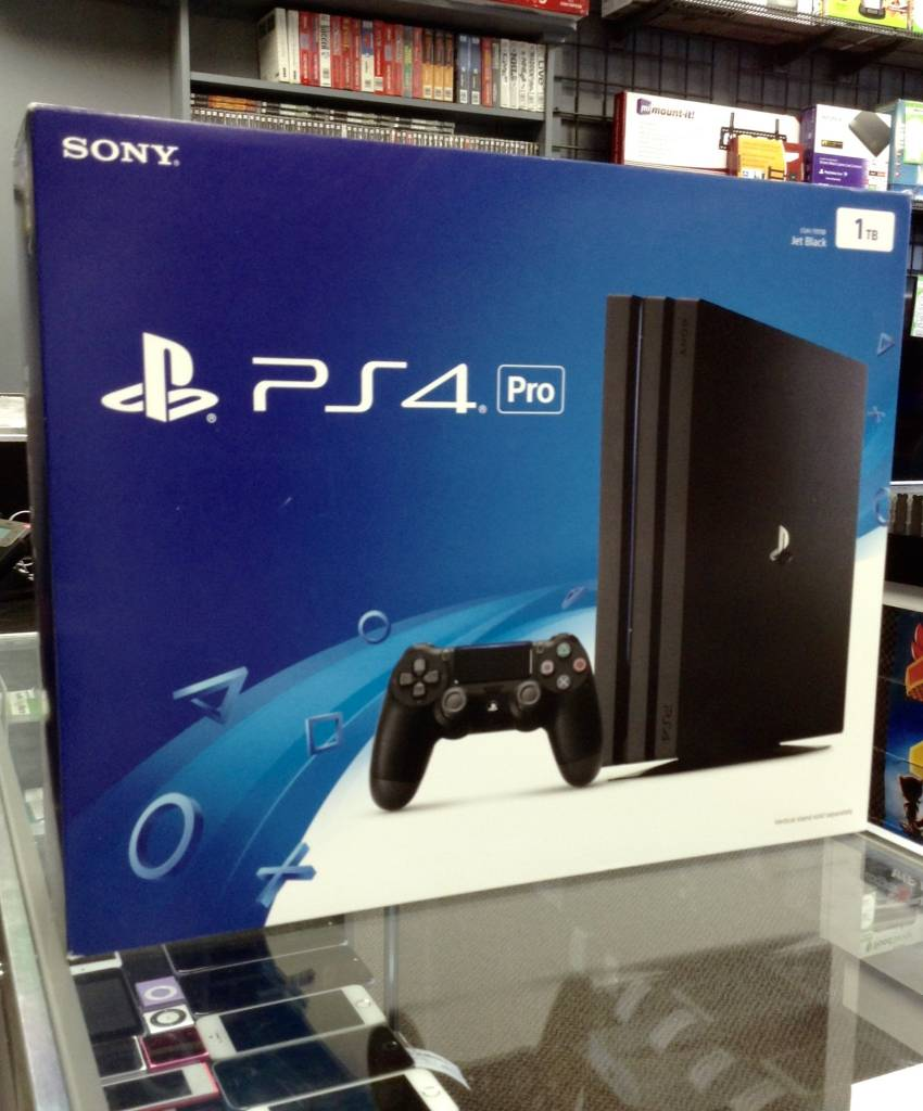 Used - Sony Playstation 4 (PS4) Pro - 1TB  - Jet Black