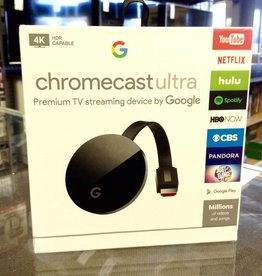 Google Chromecast Ultra - 4K TV Streamer - In Box