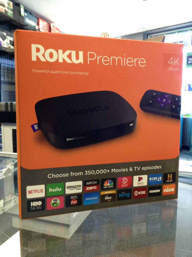 Roku Premiere - 4K HD Streaming Device